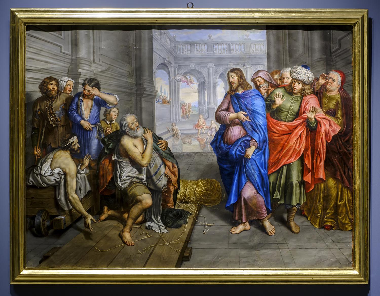20190621_Catedral Cuadro Curacion Del Paralitico De Betesda 1640-50 Peter Van Lint_KAM4629